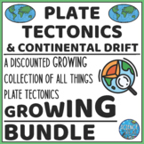 Plate Tectonics Bundle! Growing! NOW 14 Products and Still Growing!
