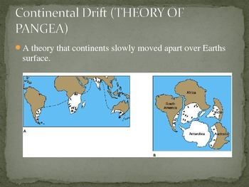 Plate Tectonics and Earth's Interior Vocabulary