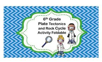 Plate Tectonics and Rock Cycle Foldable