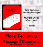 Plate Tectonics Reading Passages and Questions (Distance Learning)