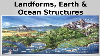 Plate Tectonics and other Earth processes