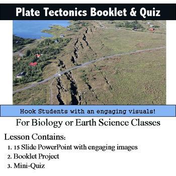 Plate Tectonics booklet & Quiz
