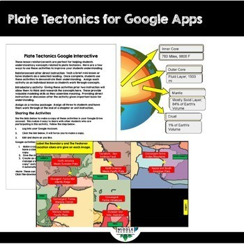 Plate Tectonics for Google Apps
