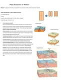 Plate Tectonics in Motion Activity