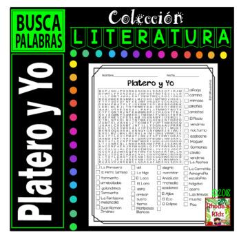 Platero y Yo  -Word search