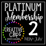 Platinum Membership 2 (May- July 2016) {Creative Clips Digital Clipart}