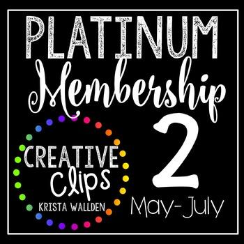 Platinum Membership 2 (May- July 2016) {Creative Clips Dig