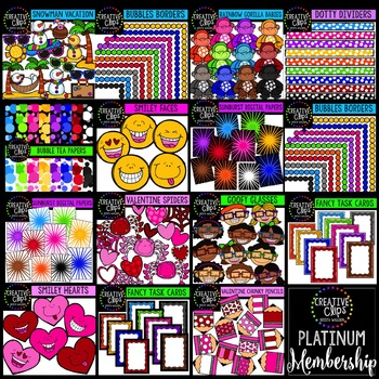 Platinum Membership (Jan-March 2016) {Creative Clips Digital Clipart}