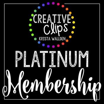 Platinum Membership (Jan-March 2016) {Creative Clips Digit