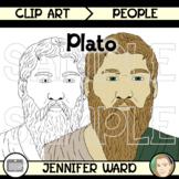 Plato Clip Art
