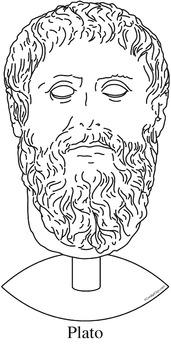 Plato Clip Art, Coloring Page, or Mini-Poster