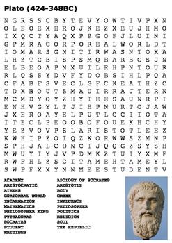 Plato (Greek) Word Search