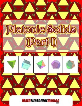 Platonic Solids (Part I) {Math Activity}