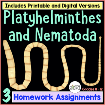 Platyhelminthes and Nematoda (flatworms and roundworms) Study Guide
