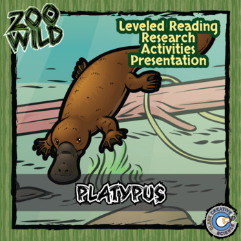 Platypus -- 10 Resources -- Coloring Pages, Reading & Activities