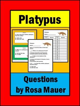 Platypus Task Cards