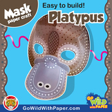 Platypus Mask | Printable Craft Activity