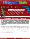 Platypus Math: Fractions, Decimals, Percents