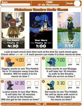 Platypus Math: Time & Measurement
