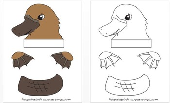"""Platypus and Letter """"P"""" Crafts"""