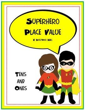 Plave Value Superheros I Have Who Has