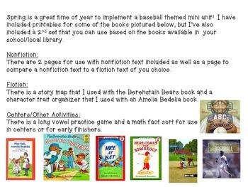 Play Ball: A Common Core Aligned Baseball Unit