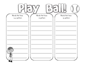 Play Ball - A Long A Game