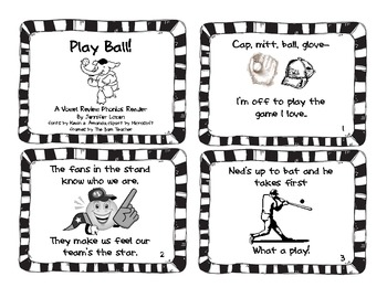Play Ball!: A Vowel Review Phonics Reader