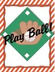 Play Ball Addition Board Game