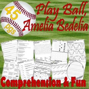 Play Ball Amelia Bedelia * Book Companion Reading Comprehension Idioms Activity