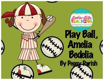 Play Ball, Amelia Bedelia!  By Peggy Parish