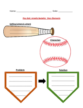Play Ball, Amelia Bedelia! Guided Reading Packet