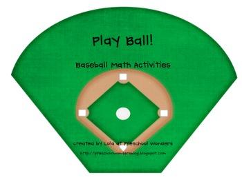 Play Ball! Baseball Math Activities