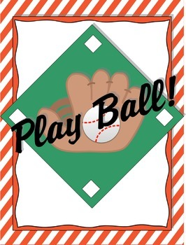 Play Ball Onsets and Rimes Board Game