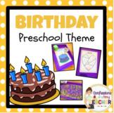 Play-Based Birthday Themed Activities {Toddler/Preschool/PreK}