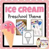 Play-Based Ice Cream Themed Activities {Toddler/Preschool/PreK}