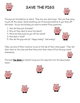 Play-Based Learning Writing