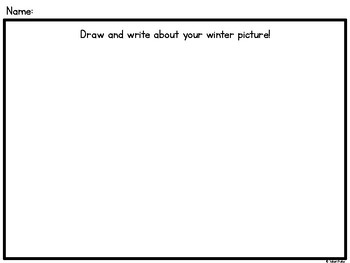 Play-Based Learning Writing Templates for Kindergarten