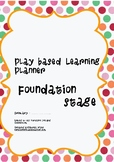 Play Based Learning planner front cover