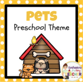 Play-Based Pet Themed Activities {Toddler/Preschool/PreK}