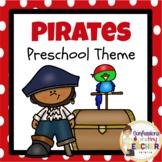 Play-Based Pirate Themed Activities {Toddler/Preschool/PreK}
