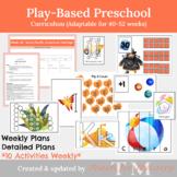Play Based Preschool Curriculum (GROWING bundle)