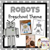 Play-Based Robot Themed Activities {Toddler/Preschool/PreK}