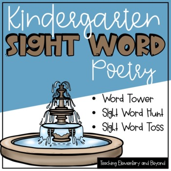 Poem of the Week & Activities Poetry for Shared Reading Summer & Self-Regulation