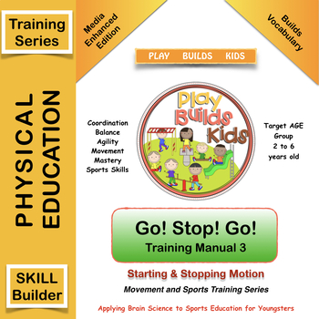 Play Builds Kids Movement & Sports Training Program Go! Stop! Go! Manual 3