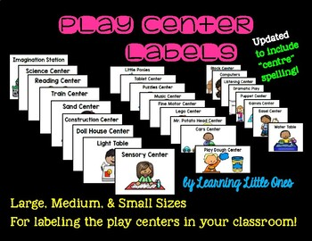 Play Center Labels