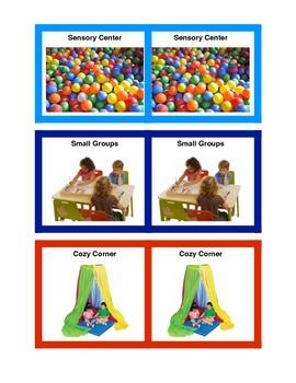 Play Centers - Preschool