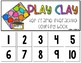 Play Clay 10 Frame Counting Interactive Book