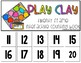 Play Clay 20 Frame Counting Interactive Book