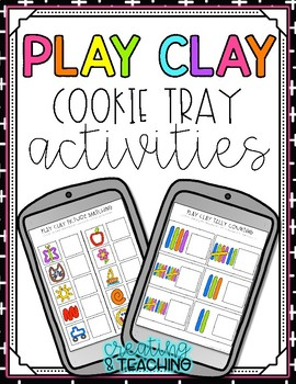 Play Clay Cookie Tray Activities